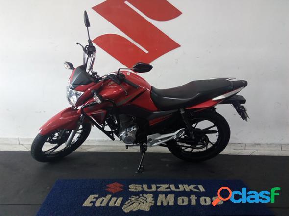 Honda cg 160 titan ex flex vermelho 2017 160 flex