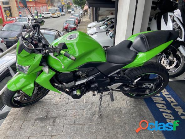 Kawasaki z750 verde 2011 750 gasolina