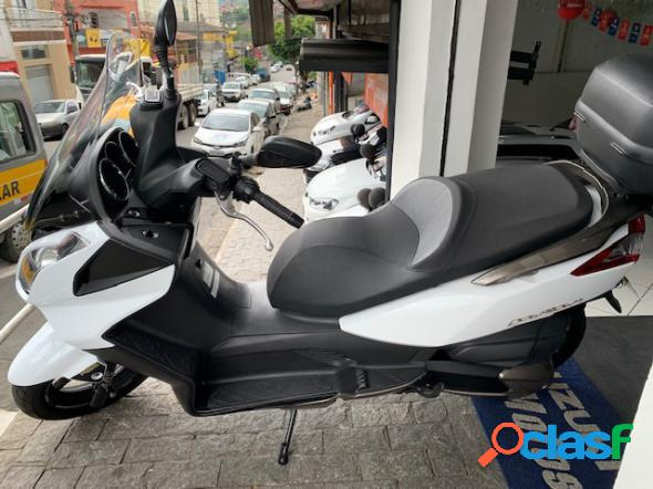 Haojue downtown 300i abs branco 2018 300 gasolina