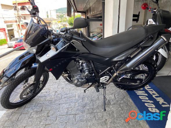 Yamaha xt 660r preto 2012 660 gasolina