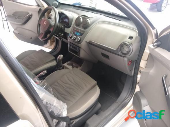 Chevrolet agile lt 1.4 mpfi 8v flexpower 5p bege 2013 1.4 flex