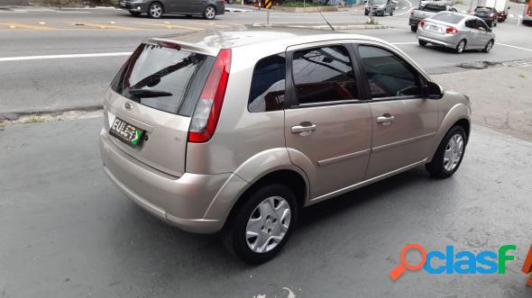 Ford fiesta 1.6 16v flex mec. 5p prata 2013 1.6 flex