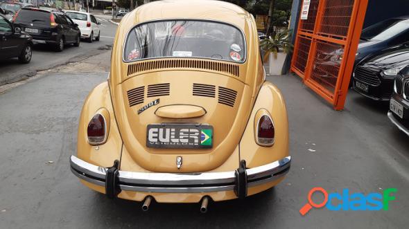 Volkswagen fusca 1300 l 4p bege 1978 1300 gasolina