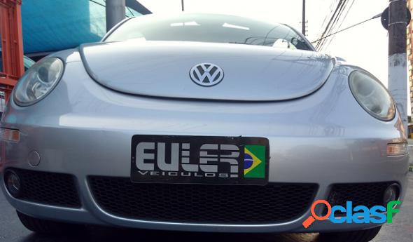 Volkswagen new beetle 2.0 mi mec.aut. prata 2007 2.0 gasolina