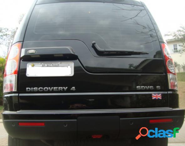 Land rover discovery4 s 3.0 4x4 tdv6 diesel aut. preto 2013 3.0 diesel