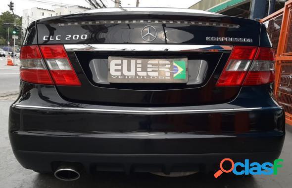 Mercedes-benz clc 200 kompressor 1.8 184cv aut. preto 2011 1.8 gasolina