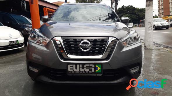 Nissan kicks s 1.6 16v flex 5p aut. cinza 2018 1.6 flex