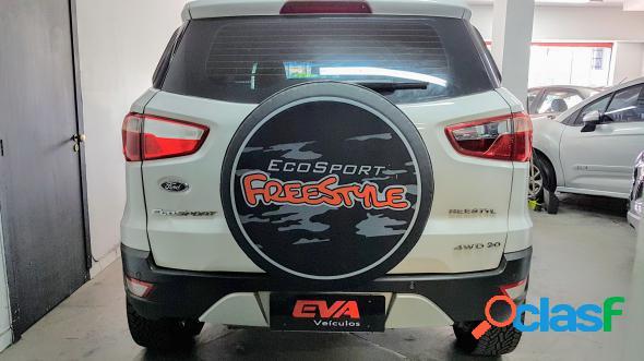 Ford ecosport freestyle 2.0 16v 4wd flex 5p branco 2016 2.0 flex