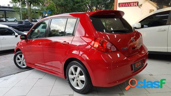 Nissan tiida sl 1.81.8 flex 16v mec. vermelho 2012 1.8 flex