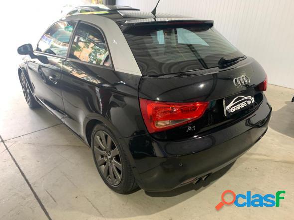Audi a1 1.4 tfsi 122cv s-tronic 3p preto 2011 1.4 gasolina
