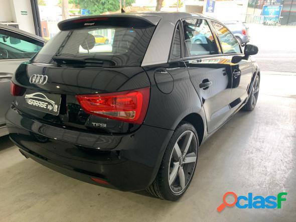 Audi a1 sportback 1.4 tfsi 5p s-tronic preto 2015 1.4 gasolina