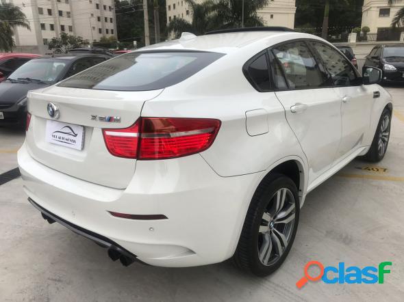 Bmw x6 m 4.4 4x4 v8 32v bi-turbo aut. branco 2012 4.4 gasolina
