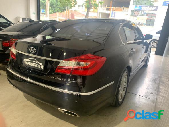 Hyundai genesis 3.8 v6 24v 290cv 4p aut. preto 2013 3.8 gasolina