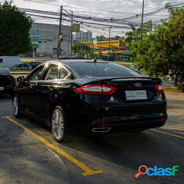 Ford fusion titanium 2.0 gtdi eco. awd aut. preto 2016 2.0 gasolina