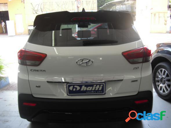 Hyundai creta sport 2.0 branco 2019 2.0 flex