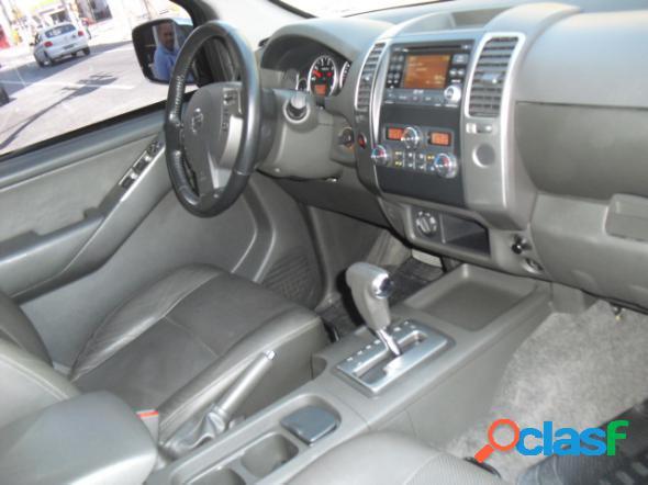Nissan frontier sl cd 4x4 2.5tb diesel aut preto 2014 2.5 diesel