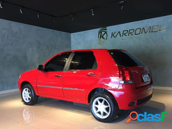 Fiat palio 1.0 economy fire flex 8v 4p vermelho 2009 1.0 flex