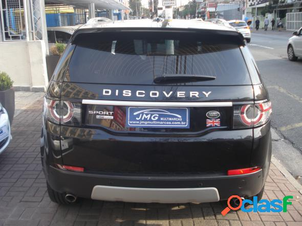 Land rover discovery sport hse luxury 2.0 4x4 aut. preto 2016 2.0 gasolina