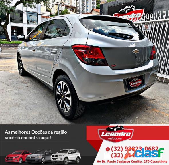 Chevrolet onix hatch ltz 1.4 8v flexpower 5p aut. prata 2015 1.4 flex