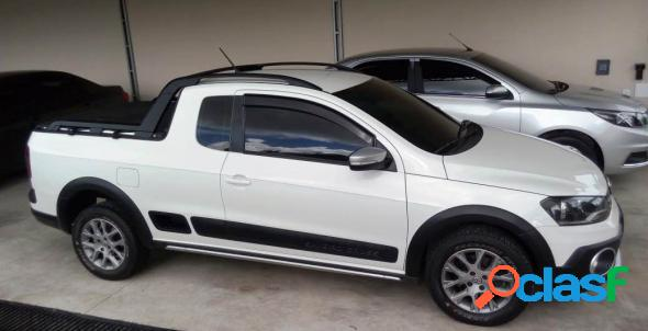 Volkswagen saveiro cross 1.6 t. flex 16v ce branco 2016 1.6 flex