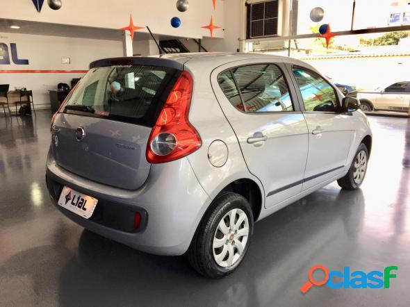 Fiat palio attractive 1.0 evo fire flex 8v 5p prata 2016 1.0 flex