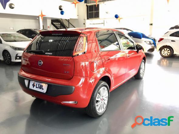 Fiat punto essence sp dualogic 1.6 flex 16v vermelho 2016 1.6 flex