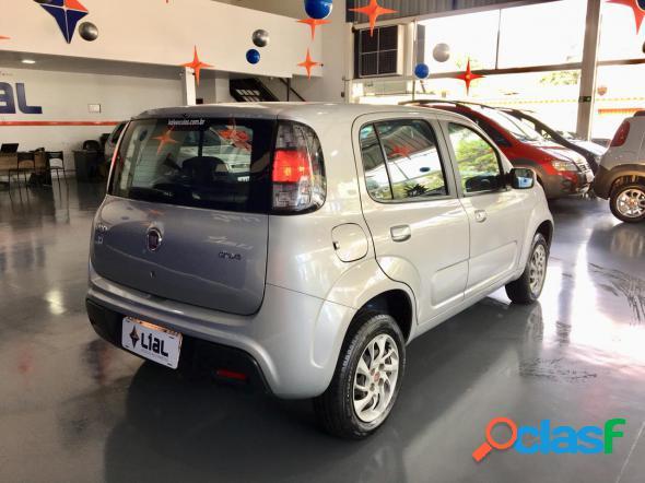 FIAT UNO DRIVE 1.0 FLEX 6V 5P PRATA 2019 1.0 FLEX