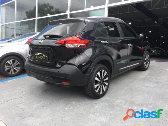 Nissan kicks sl 1.6 16v flexstar 5p aut. preto 2018 1.6 flex