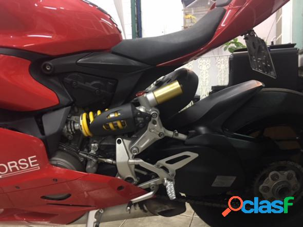 Ducati 1199 panigale vermelho 2013 1900 gasolina