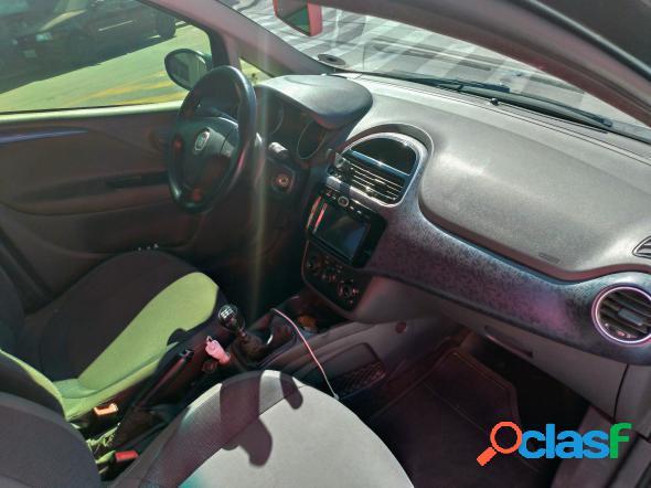 Fiat punto attractive 1.4 fire flex 8v 5p cinza 2014 1.4 flex