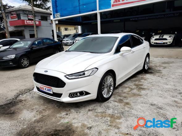 Ford fusion titanium 2.0 gtdi eco. awd aut. branco 2016 2.0 16v gasolina