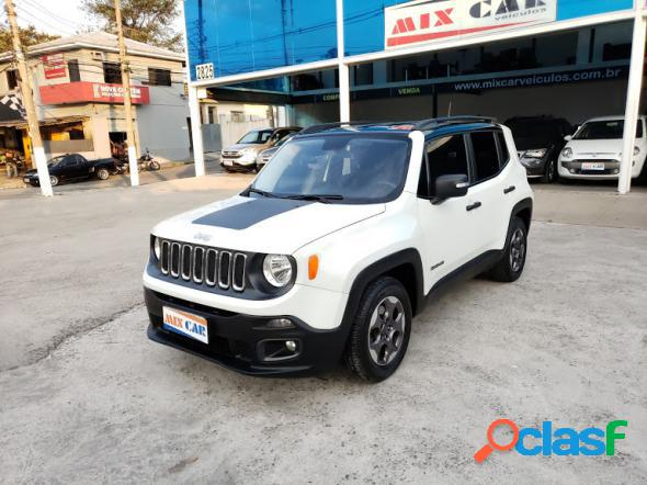 Jeep renegade sport 1.8 4x2 flex 16v aut. branco 2016 1.8 16v flex