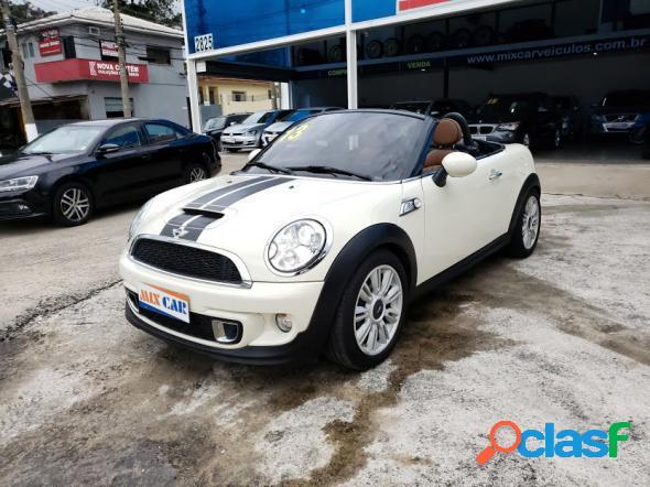 Mini cooper roadster s 1.6 aut. branco 2013 1.6 16v gasolina