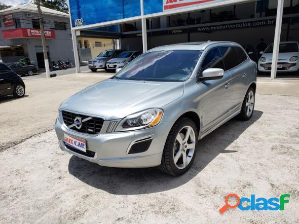 Volvo xc 60 t-5 r-design 2.0 fwd 5p prata 2013 2.0 16v gasolina