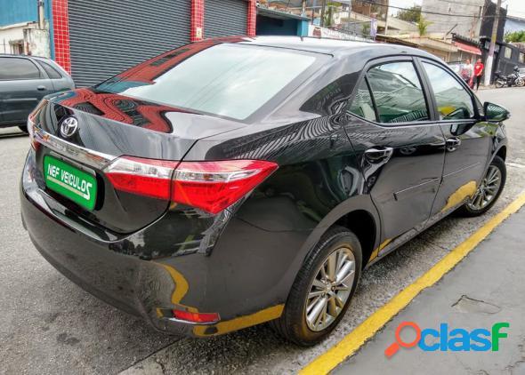 Toyota corolla xei 2.0 flex 16v aut. preto 2017 2.0 flex