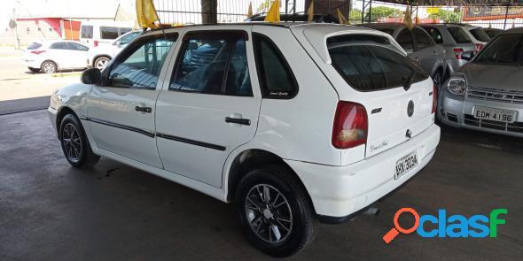 Volkswagen gol 1000 mi 16v ouro 2p branco 1999 1.0 gasolina