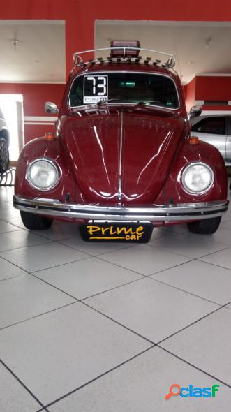 Volkswagen fusca vermelho 1973 1.0 gasolina