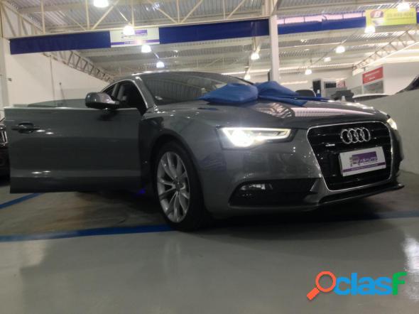 Audi a5 sportback 2.0 16v tfsi 180cv multi. cinza 2014 2.0 gasolina