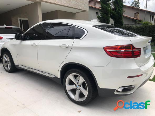 Bmw x6 xdrive 50i 4.4 407cv bi-turbo branco 2014 180 cv gasolina