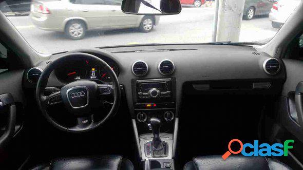Audi a3 sportback 2.0 16v tfsi s-tronic preto 2009 2.0 gasolina