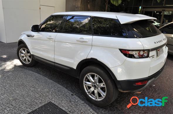 Land rover range r.evoque pure 2.0 aut. 5p branco 2013 2.0 gasolina