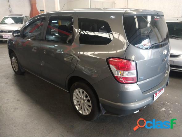 Chevrolet spin lt 1.8 8v econo.flex 5p aut. cinza 2013 1.8 flex