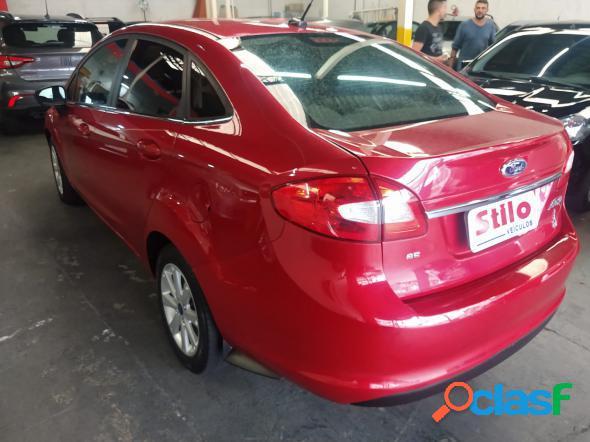 Ford fiesta sedan se 1.6 16v flex 4p vermelho 2011 1.6 flex