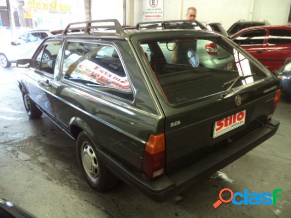 Volkswagen parati cli cl atlanta 1.8 verde 1992 1.8 gasolina