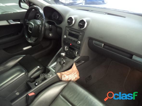 Audi a3 sportback 2.0 16v tfsi s-tronic preto 2011 2.0 gasolina