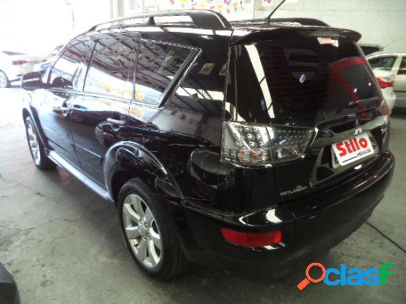 Mitsubishi outlander 2.0 16v 160cv aut. preto 2012 2.0 gasolina