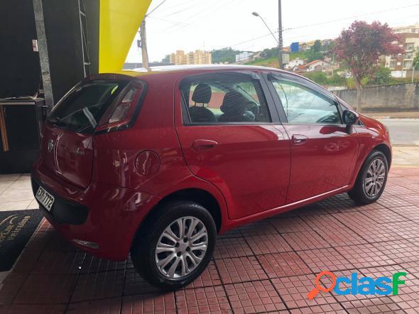 Fiat punto attractive 1.4 fire flex 8v 5p vermelho 2013 1.4 flex