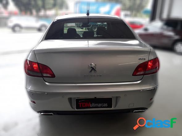 Peugeot 408 sedan griffe 2.0 flex 16v 4p aut. prata 2012 2.0 flex