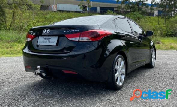 Hyundai elantra gls 1.8 16v aut. preto 2013 1.8 gasolina