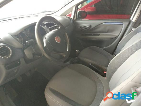Fiat punto attractive italia 1.4 f.flex 8v 5p branco 2013 1.4 flex